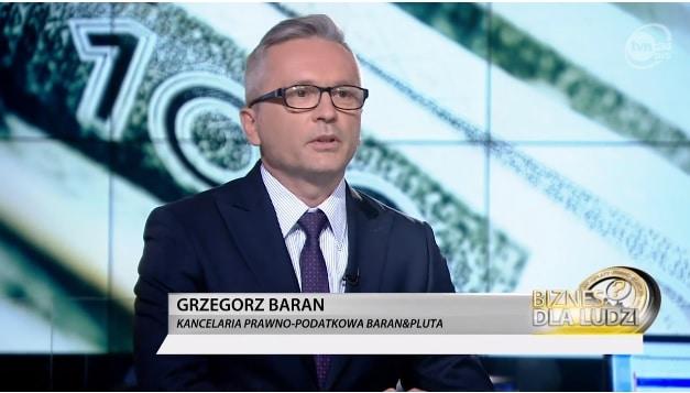 """Skrócenie terminu przedawnienia roszczeń z10 lat na6 lat – Grzegorz Baran w""""Biznes dla ludzi"""""""