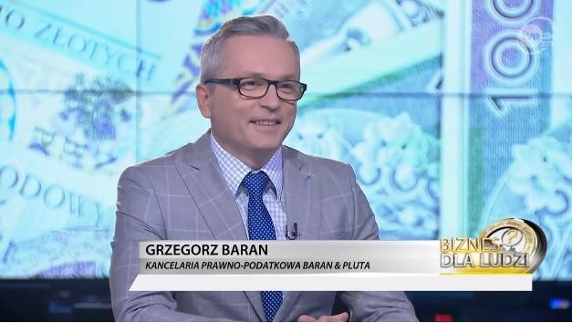 """Planowane zmiany wPIT – Grzegorz Baran w""""Biznes dla ludzi"""""""