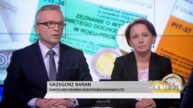 """Jak wyglądają zmiany wPIT w2019 r. – Grzegorz Baran dla programu """"Biznes dla Ludzi"""""""